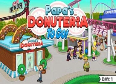 爸爸的甜甜圈店安卓版 V1.0.0