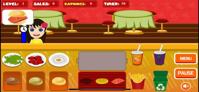 汉堡包快餐iPhone版 V1.0