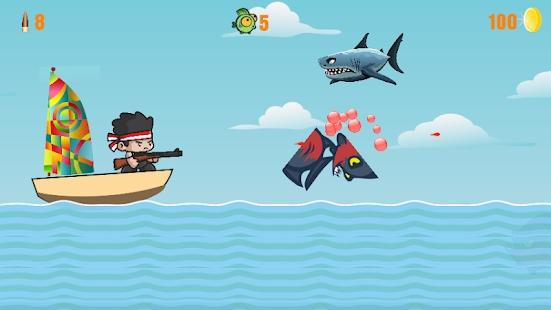 疯狂鱼猎杀安卓版 V0.1