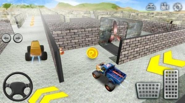 怪物卡车迷宫冒险安卓版 V1.19