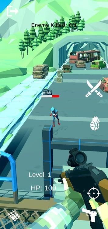 枪击僵尸入侵防御安卓版 V0.2