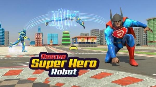 飞行超级英雄机器人救援安卓版 V1.0.3